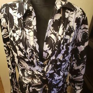 Jones New York  signature size XL blouse